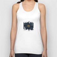 square Tank Tops featuring Square by thinschi