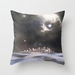 desert city Throw Pillow