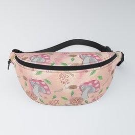 Woodland Pattern Fanny Pack