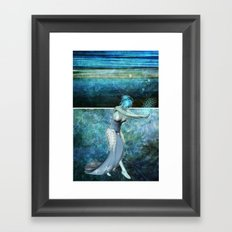 Queen of the sea... Diptych Framed Art Print