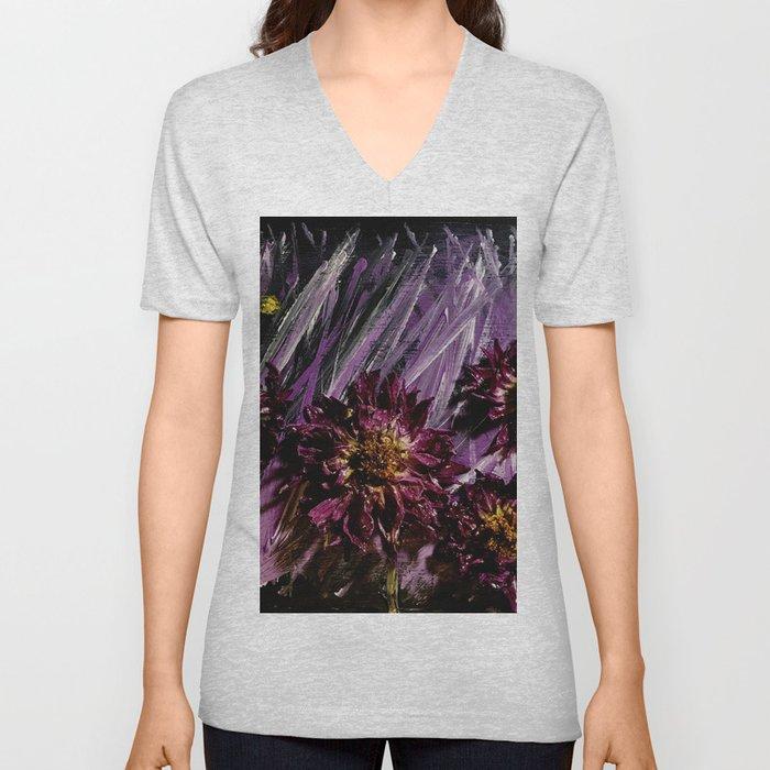 Dahlia Storm Unisex V-Neck