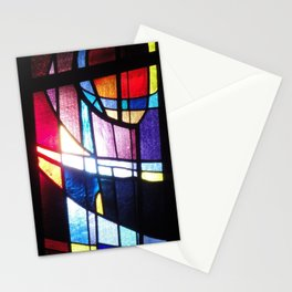Stained Beauty Stationery Cards
