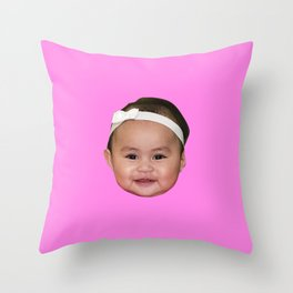 Our baby Throw Pillow