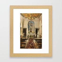 Private Chapel Framed Art Print