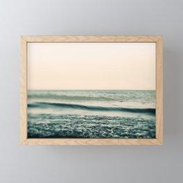 Turquoise Morning Framed Mini Art Print