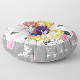 Sailor Senshi - Uncovered (Original Anime Color) Floor Pillow