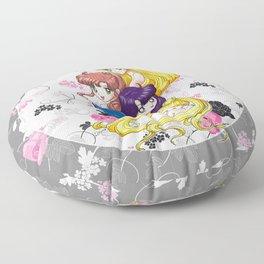 Sailor Senshi - Uncovered (Original Anime Color) Floor Pillow