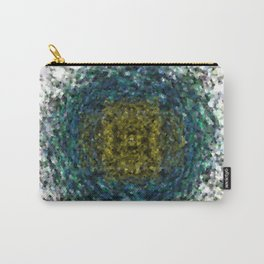 Geode Abstract 01 Carry-All Pouch