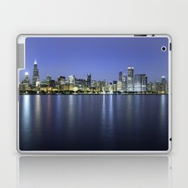 Chicago Skyline Dusk Panorama Laptop & iPad Skin