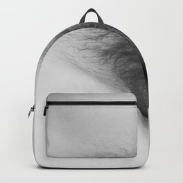 Origin. Delicate Pussy of Sexy Nude Woman Backpack