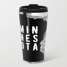 Minnesota Pine Metal Travel Mug
