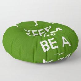 Keep Calm and Be a Superhero Floor Pillow