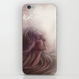 love and light // paige turco iPhone Skin