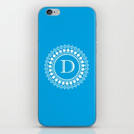The Circle of D iPhone Skin
