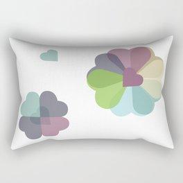 Heartflowers1 Rectangular Pillow