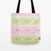 batik Tote Bags featuring Batik  by Franciska Windy