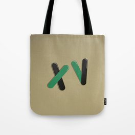 Graphic Poster #15 - XV Tote Bag