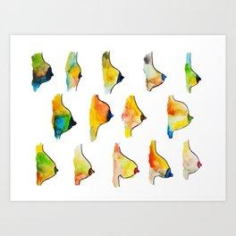 Side Boob Art Print