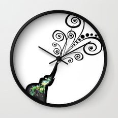 dreaming big Wall Clock