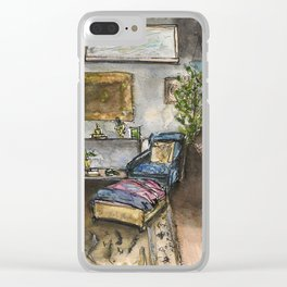 Living Room Corner Clear iPhone Case