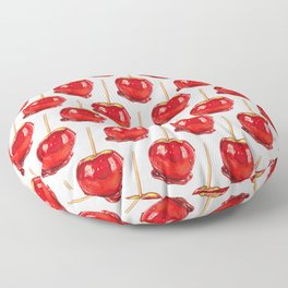 Candy Apple Floor Pillow
