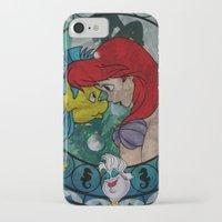 ariel iPhone & iPod Cases featuring Ariel by Mazuki Arts