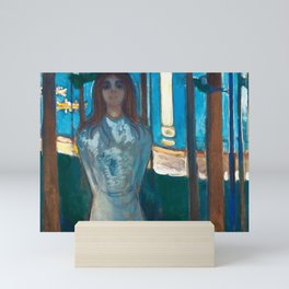 The Voice, Summer Night by Edvard Munch Mini Art Print