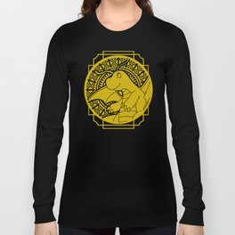 Stained Glass - Pokémon - Dragonite Long Sleeve T-shirt