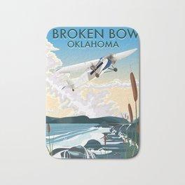 Broken Bow Oklahoma Bath Mat