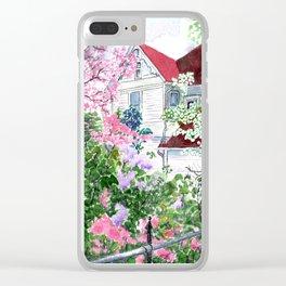 Eureka Springs Victorian Clear iPhone Case