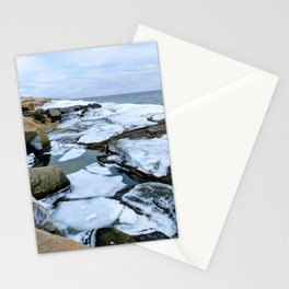 Ocean Ice Stationery Cards