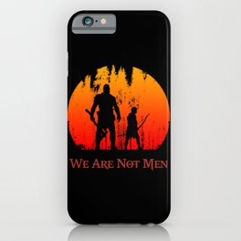 We Are Not Men iPhone Case