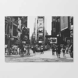 times square, ny Canvas Print