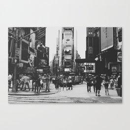 times square, ny Canvas Print
