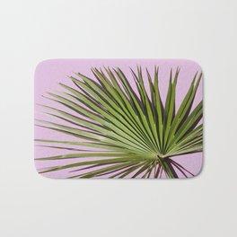 Palm on Lavender Bath Mat