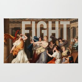 Fight. Rug