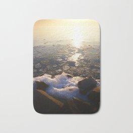 Sunset over Ice Lake Bath Mat
