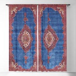 Silk Kashan Central Persian Rug Print Blackout Curtain