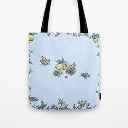 Lemon&Raspberry Tote Bag