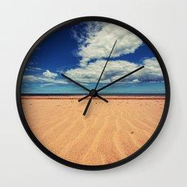Rustico Beach Wall Clock