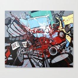 Atto di colore #2 Canvas Print
