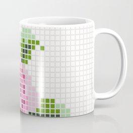 Shabby Chic Pink Rose Coffee Mug