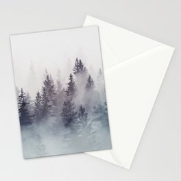 Winter Wonderland - Stormy weather Stationery Cards