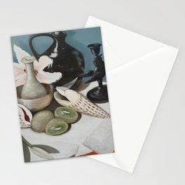 Kiwi fruit & Lillies Stationery Cards