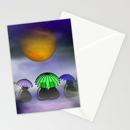 the little mooncats Stationery Cards