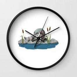 Wash Day Wall Clock