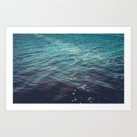 Sea Calm Art Print
