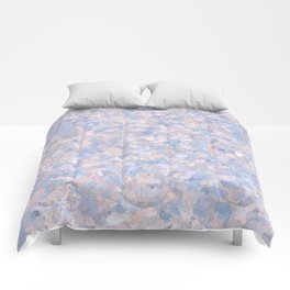 Light pink and blue popcorn 4647 Comforters