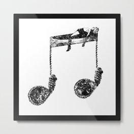 Death-Like Noises Metal Print