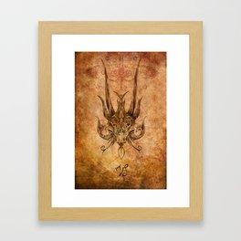 Zodiac: Capricorn Framed Art Print